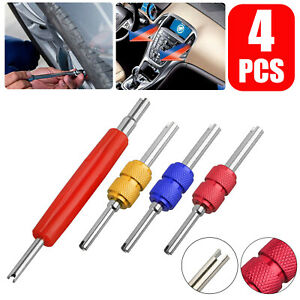 Hvac Ac Schrader Valve Core Remover 2 Size Installer Tool For Automotive Truck