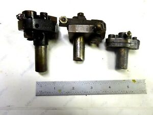 3 Turret Tools For Hardinge Or B s Turret Lathes Or Screw Machines 5 8 Shank