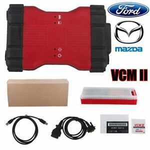 New Vcm Ii 2 In 1 Obd2 Car Diagnostic Tool For Ford Ids V106 For Mazda Ids Uw