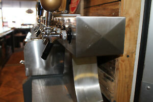 4 Faucet Glycol Beer Tower used