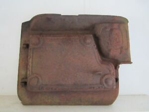 Antique Rusty Cast Iron Door Frame Martin Wood Burning Stove Steampunk Part
