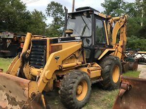 2 Caterpillar 446b Turbo 4wd Backhoes With Extendahoe 2 Machines
