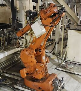 Abb Irb2400 m98a Robot Manipulator Arm W Controller And Teach Pendant