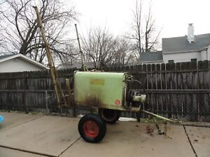 Myers 6310 Du all 6110 Pump P t o Driven Crop Boom Sprayer Trailer Tow Behind