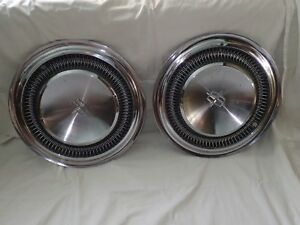 1966 1967 Lincoln Continental Sedan Convertible Coupe Wheel Covers Hubcaps 2