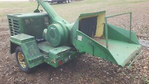 Fmc Wayne Wood Chipper V8 Engine Powered