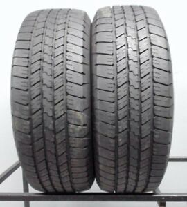 Two Used 265 65r18 2656518 Goodyear Wrangler Sra 9 32 D64