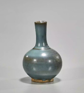 Antique Chinese Jun Ware Bottle Vase