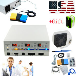 Medical Electrosurgical Unit Diathermy Machine Surgery Bipolar Wide Scope Device