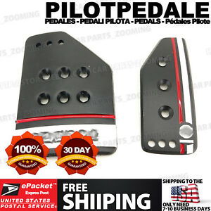 3 Color Black At S Style Universal Racing Non slip Automatic Car Pedals Pad Cy28