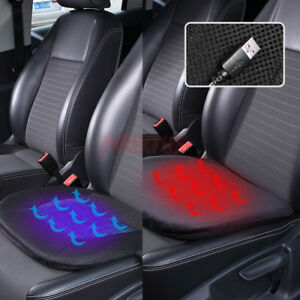 Car Seat Cushion 12v Heating Gel Cooling Therapy Bubble Foam Padded Cover Pad