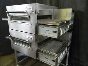 Lincoln Impinger Conveyor Double Stack Pizza Gas Oven 1116 we Offer Financing