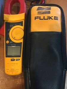 Fluke 902 True Rms Hvac Clamp Meter With case in good Working Condition