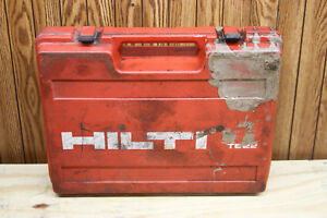 Hilti Te22 Hammer Drill Kit W Bits Case cr