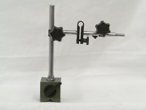 Mitutoyo Machinists Magnetic Base With Indicator Holders