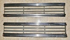 1939 Plymouth Coupe Side Hood Grille Trim Oem Side Hood Trim Pair