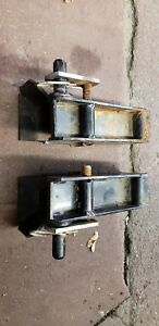 Western Ultra Mount Snowplow Receivers Left And Right