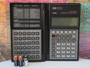 Hewlett Packard Hp 28s 28 S Scientific Calculator W Batteries Works Tested