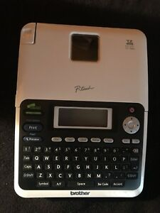Brother Labeler p touch Pt 2030 Label Maker With Box