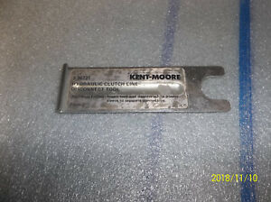 Kent Moore Gm Hyd Clutch Line Disconnect Tool