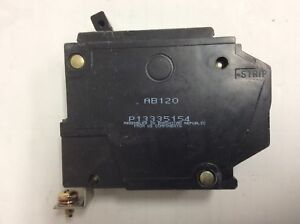Set Of 20 Ge Thqb1120 1 Pole 20a 120 Volt Circuit Breakers
