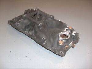 Mercruiser 454 Weiand Bb Chevy Intake Manifold Rectangle Port 7513 Corroded
