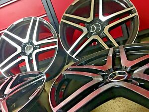 Mercedes 20 Inch S65 Rims Set4 Staggered New Fits S63 S550 S Fits Amg