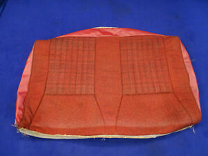 90 91 92 Ford Mustang Convertible Red Rear Upper Seat Cover Used Take Off 9