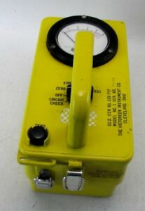 The Victoreen Instrument Co Ocd Cdv 715 1a Geiger Counter Radiation Detector