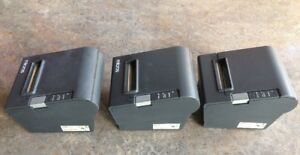 Lot Of 3 Epson Tm t88iv M129h Label Thermal Pos Point Of Sale Printers