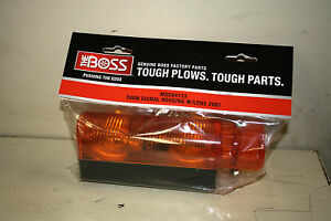 Boss Snowplow Turn Signal Housing Kit Msc04733 New Oem