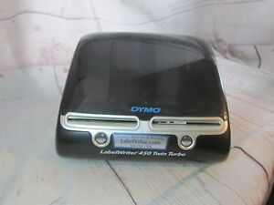 Dymo Labelwriter 450 Twin Turbo Label Printer No Cord Or Cables
