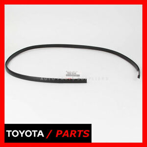 Factory Toyota Yaris Base Sedan 2007 2011 Roof Drip Molding Left 75552 52140 Oem