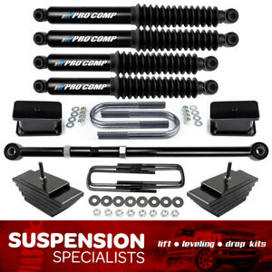 3 3 Lift Kit 2000 2005 Ford Excursion 4x4 4wd W Track Bar Pro Comp Shocks
