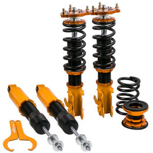 Br Coilovers Kit For Honda Civic Mk8 8th Gen 2006 2011 Adj Height Golden