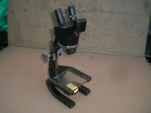 Vintage Spencer Stereo Microscope With 2 Objectives 2x And 7x