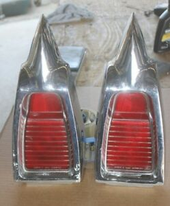 1963 Buick Wildcat Tail Lights Tailights Assembly 5953896 Pair