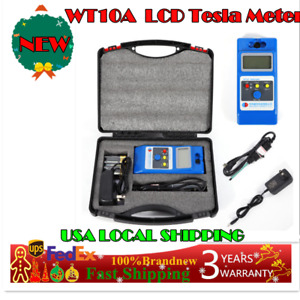 Lcd Tesla Meter Gaussmeter Surface Magnetic Field Tester Emf Gaussmeters Sale