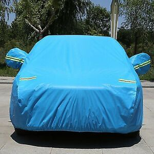 Xxl Large Car Cover Waterproof Heat Sun Snow Dust Rain Resistant Protection X