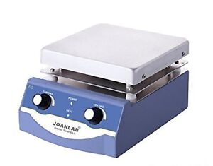 Joanlab Hs 17 Magnetic Stirrer Hot Plate 3l 350c 100 1600rpm 1 Year Warranty