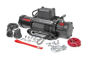 12000lb Pro Series Electric Winch Synthetic Rope