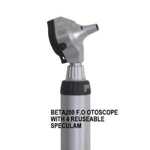 Original Heine Beta 200 F o otoscope With 4 Resueable Speculam