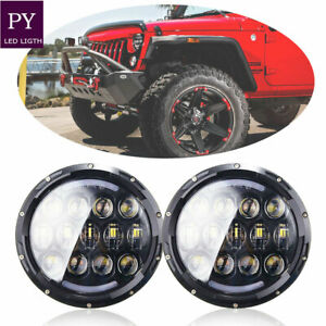 Headlight R L Bulbs Round Sealed Beam Dual For Chevy Ford Toyota Pickup Truck Gm
