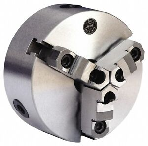 12 3 jaw Self centering Manual Lathe Chuck Fit L 1 Spindle Semi steel Gibraltar