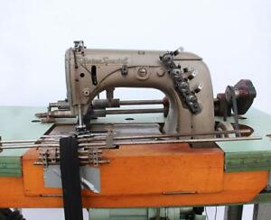 Union Special 51400 Be Chainstitch 2 needle 1 2 Gauge Industrial Sewing Machine