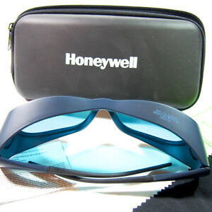 Uvex By Honeywell 31 21152g Laser Safety Glasses Light Blue Lens Usa