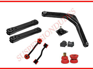 10pc Rear Control Arm Sway Bar Suspension Kit For 1999 2004 Jeep Grand Cherokee