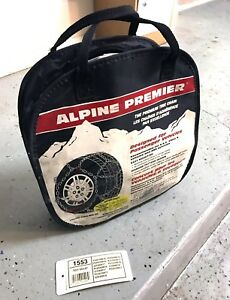 Alpine Premier 1553 Tire Chains P225 75r15 P225 70r15 P245 60r15 235 60r16