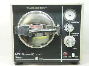 Ritter M7 Speedclave Surgical Autoclave Sterilizer Powers Up Free Shipping