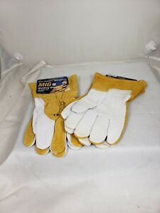 3 Or 6 Pack Of Tillman Mig 48 Large Welding Gloves Goatskin split Cowhide